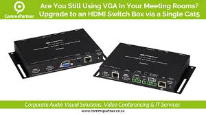 hdmi switch box via a single cat5 cable u2022 upgrade your meeting room