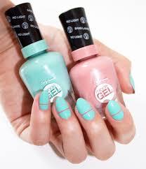 easy back to nails with sally hansen miracle gel lauren u0027s