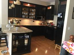 Can You Paint Kitchen Cabinets Without Sanding Can You Re Paint Stain Prefinished Cabinets Without Sanding Them