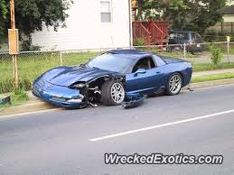 2002 zo6 corvette 2002 chevy corvette z06 wrecked in arlington virginia