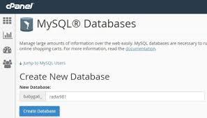 cara membuat database dengan mysql front cara membuat website panduan untuk pemula bisa dalam 60 menit