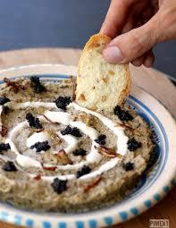 cuisine iranienne kashk bademjan purée d aubergine à l iranienne piment oiseau
