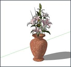 Draw A Flower Vase Sketchup Tutorial How To Create A Vase Mastersketchup Com