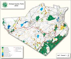 Map Of Hudson County Nj Highlands Trail Guide Guidebook Nu Nj Trail Conference