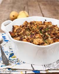 sausage stuffing recipes thanksgiving sausage pear and sage stuffing vikalinka