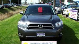 suv toyota 2008 2008 toyota highlander v6 sport leather back up camera inspected
