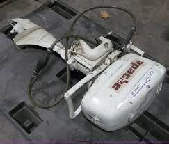 1957 apache clinton 5hp outboard engine item g9483 sold