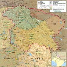 map of and what is the correct map of jammu kashmir of india quora
