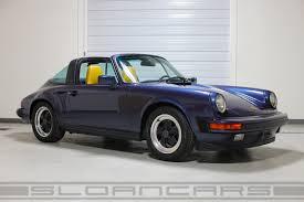 porsche targa 1995 1986 porsche 911 carrera targa prussian blue 60 176 miles sloan cars
