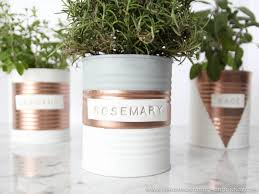diy indoor herb garden spray paint u0026 chardonnay