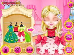 baby barbie princess fashion games