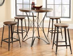 adele round counter height dining room set from steve silver