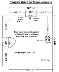 Draw Kitchen Cabinets by Measuring Kitchen Cabinets Indianapolis Kitchen Cabinetscabinet