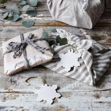 handmade ceramic snowflake ornaments set of 2 on food52
