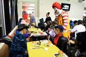 denver restaurants serving thanksgiving dinner photos denver mcdonald u0027s hosts free thanksgiving meal for seniors