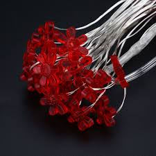 Red Heart Fairy Lights by Online Shop 5m 50leds Sunflower String Fairy Lights Chain