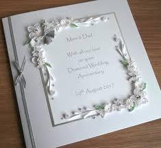 60th wedding anniversary card folksy