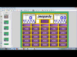 creating a jeopardy game for a smartboard youtube