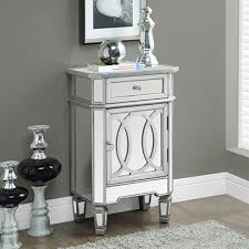Accent Table Canada Monarch Specialties I 3707 Mirrored 29 In Accent Table Lowe S Canada