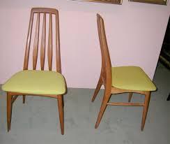 Teak Dining Room Set Set Of Four Danish Modern Teak Dining Room Chairs For Sale At 1stdibs