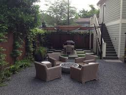 Gravel Fire Pit Area - fire pits are for fall in houston glenwood weber design