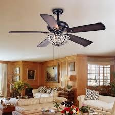 52 inch ceiling fan with light hannele bowl 3 light 5 blade black 52 inch ceiling fan lighting