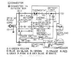 sharp sj 24 e wh sj 24e gy wiring diagram refrigerator