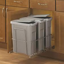 trash can cabinet insert cabinet trash can slider willazosienka com