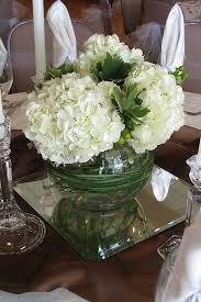 White Hydrangea Centerpiece by Best 20 Short Centerpieces Ideas On Pinterest Short Wedding