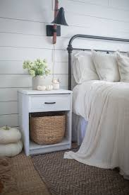 nightstand mesmerizing fall farmhouse home tour bedroom