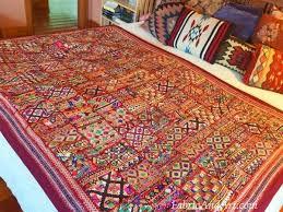 indian tribal wall hangings sari quilts
