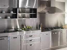 Custom Kitchen  Attractive Stainless Steel Kitchen Cabinets - Professional kitchen cabinet