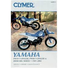 yamaha manuals clymer repair manual yamaha pw50 y zinger pw80 y zinger bw80 big