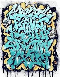 imagenes para dibujar letras graffitis dibujar abecedario o letras en graffiti 5 letters pinterest