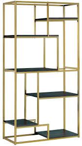 elvira champagne display shelf from furniture of america coleman
