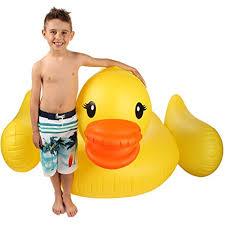 amazon pool floats amazon com inflatable duck float pool raft huge 80 rubber duck