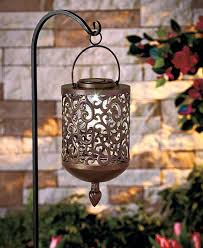outdoor solar lights with on off switch solar iron lantern scroll decor garden deck patio on off switch