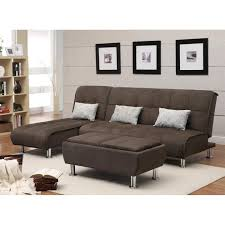 living room sectional sofa sleeper chaise convertible leather