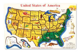 wooden usa map puzzle with states and capitals wooden usa map puzzle learn states capitals geography kid 45