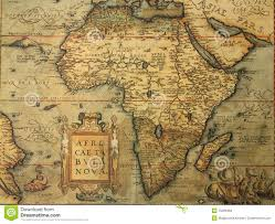 Ancient Map Of Africa by Antique Map Of Africa Stock Images Image 15289484