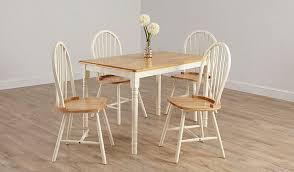 Asda Direct Armchairs George Home Yvette Pair Of Dining Chairs Solid Wood And Cream
