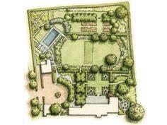 villandry garden plan garden plans u0026 history pinterest