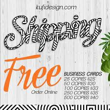 Totally Free Business Cards Free Shipping Order Free Business Cards Free Shipping Vistaprint 250 Premium