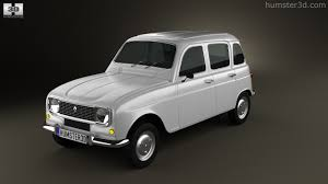 renault 4 360 view of renault 4 r4 hatchback 1974 3d model hum3d store