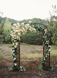 wedding ceremony arch 20 diy floral wedding arch decoration ideas