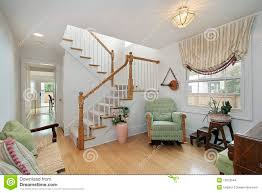 foyer with sitting area stock images image 12655644