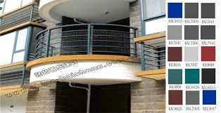 dip zinc galvanized steel decorative balcony fence bsy2