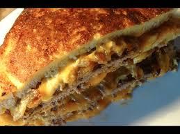cuisiner steak haché sandwich frit au steak haché cheddar recette 47