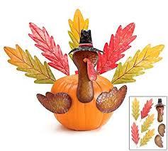thanksgiving pumpkin turkey kit outdoor