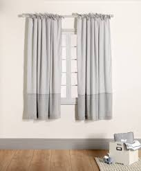 Tie Top Curtains Lined Tie Top Curtains Welcome To The World 132 X 160cm